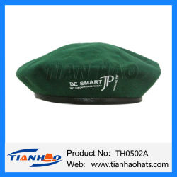 8b907a5f Wholesale Wool Beret Army Military Cap with Customized Logo for Promotion