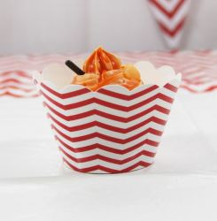 12PCS Packing Paper Cake Cup Cupcake Cases for Dessert Baking Wedding Party