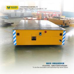Mecanum Wheels Transport Trailer No Rail Transfer Cart on Cement