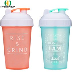 Colorful 500ml Plastic Sports Shaker Water Bottle (HDP-0347)