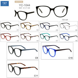 d8e9099b4c Hot Selling Fashionable Acetate Spectacles Optical Glasses Eyewear Reading  Glasses with Spring Hinge 11 Colors Factory