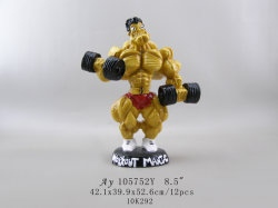 Customized Lift Figurine Model with Resin Material