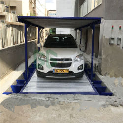 Three Layers Pit Car Parking Lift 2 Layers Under Ground Car Stacker Used Home Garage Car Lift