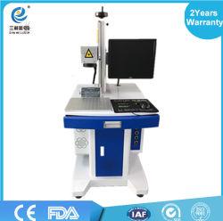 China Laser Machine Manufacturer Animal Ear Tag Laser Marking Machine with Wholesale Price