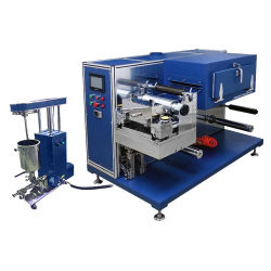 Slot-Die Roll to Roll Coating System with Precision Slurry Feeding Pump