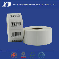 Customized Packaging Self Adhesive Printed Sticker Thermal Barcode Label Roll