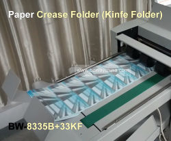 Industrial A3 A4 Size Creaser Perforator Slitter Kiss-Cut Automatic Paper Folder Machine