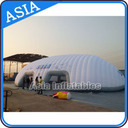 Gaint White Inflatable Promotion Elliptic Shelter Scarab Tent