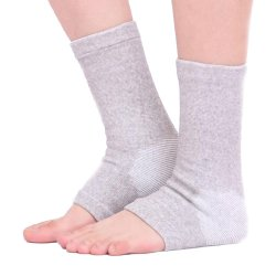 Elastic Bamboo Charcoal Fiber Keep Warm Ankle Sleeve Support for Sport Gym Football & Prevent Sports Injury Arthritis