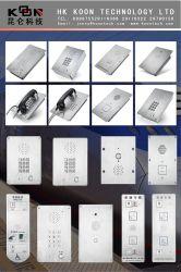 Kntech Flush Mounting Waterproof Intercom Dust Proof Clean Room Phone