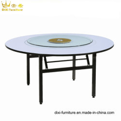Factory Wholesale Hotel Banquet Conference PVC Folding Round Table