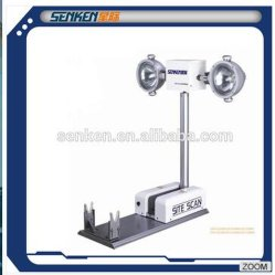 1.2m High Vehicle Mount High Mast Light Tower Pneumatic Telescopic Lighting System Nite Scan