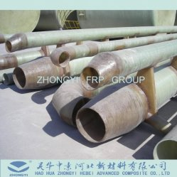 Fgd Jbr Desulfurization and Slurry GRP Fiberglass FRP Pipes