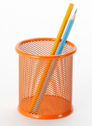 Executive Desk Accessories/ Metal Mesh Stationery Pencil Holder/ Office Desk Accessories