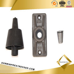 Mono Anchor and Barrel&Wedges for 15.24mm PC Steel Strand