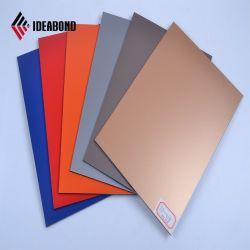 SGS Certificated Orange PVDF Aluminum Wall Decoration Panel (AF-380)