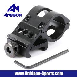Anbison-Sports Side Swing Flashlight Mount for Ras/Ris Rail