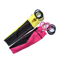 Headbands and Elastics Sets Relective Sport Hair Accessory
