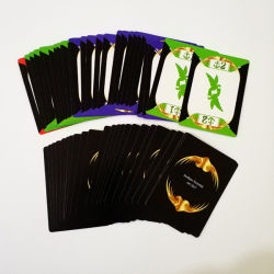 Factory OEM Custom 4c Offset Imprint Paper Poker Playing Cards