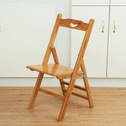 Portable Small Bamboo Folding Chair