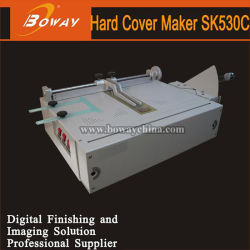 Boway Sk530c Hardcover Case Making Machine Menus Photo Albums Books CD DVD Boxes Hard Cover Maker