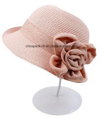 Girls Straw Article Sun Hat Bowknot Bohemia Cap