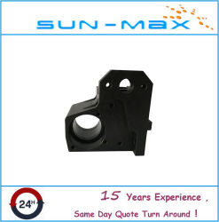 High Quality CNC Machined Steel Roller Bearing Seat with Blackening Surface Treatment