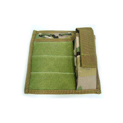 Airsoft Molle Torch Admin Pouch Mod Tactical Map Bag