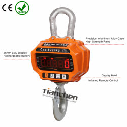 Alloy Steel Load Cell Digital Crane Scale Weighing Industrial Scale 1t