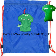 Foldable Draw String Bag, Jersey, Sports Events, Convenient and Handy, Leisure, Promotion, Reusable, Lightweight, Accessories & Decoration