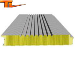 Heat and Sound Insulation Sandwich Panel Steel Structure Building