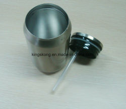 Cool Gear Can with Straw Spill Proof