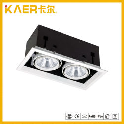 18wx2 COB LED Grille Spotlights for Artwork Lighting