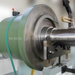 Balancing Machine for Gigantic Rotors up to 5 Ton, Like Water Pump Blower, Grinding Wheel, or Motor Rotor, etc.