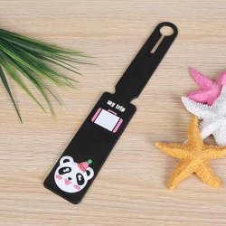 Wholesale Price Luggage Tag Strap Silicone Travel Baggage Tag