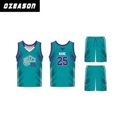 d3bc9de97 Factory China Sportswear Customized Design Green and Black Basketball  Jerseys