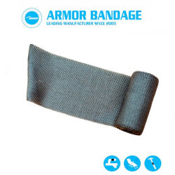 Cost Effective Anti-Corrosion Fiber Cast Bandage for Oil Pipe