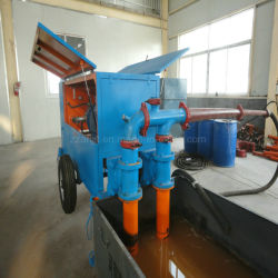 Clc Plant Using Hydraulic Concrete Pump for Delivery Concrete Slurry