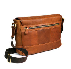 Cheap Price Retro Style Sport Leather Shoulder Bag Messenger Bag for Men