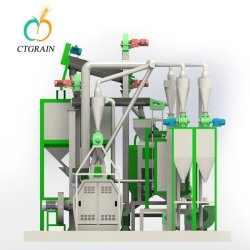 Industrial Electric Corn Mill Grinder Machine