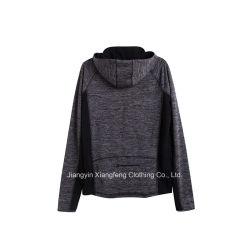 Men Breathable Hooded Polyester Single Jersey Sportswear