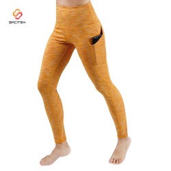 Sports Wear Trousers Tight Pants Ladies Jogging Pants with Pockets