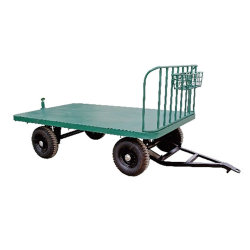 Enclosed Baggage Cart for Big Factory and Railway Station