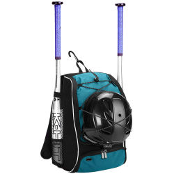 Customized Double Shoulder Sports Baseball Backpack Bag Pack (CY3718)