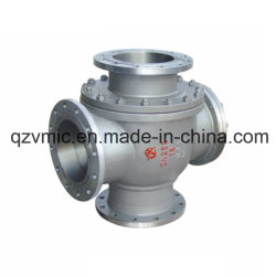 DIN Flange Patent T-Type Three-Port Three-Way Bal Valve Q44f Q45f Ball Valve Factory Manufactory Manufacturer