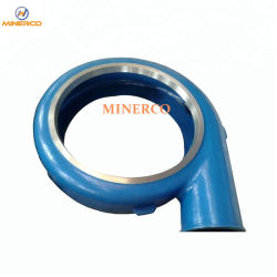 Centrifugal Slurry Pump Spare Parts Volute Liner for Export