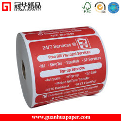 ISO Thermal Register Receipt Tape or Credit Card Receipt Paper