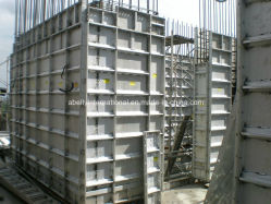 Aluminum Forms Storm Resistant Concrete Home Construction
