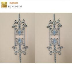 Wrought Iron Twist Bar for Handrail