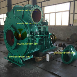 20-24-30 Inches Gear Built-in Sand Gravel Dredger Pump / Dredging/Dredge Slurry Centrifugal Water Pump